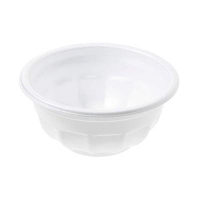 ストリックスデザイン 発泡どんぶり 小 日本製 50個 白 300ml 直径12×5.3cm 業務用 使い捨て スチロール 容器 イベント 屋台 SG