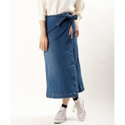 FUNALIVE / 【gramblue】ボンディング デニムラップスカート women WOMEN スカート > デニムスカート
