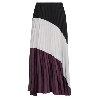 TADASKI ロングスカート ブラック II ポリエステル 75% / レーヨン 22% / ポリウレタン 3% ロングスカート