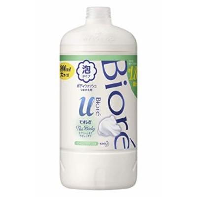 【大容量】 ビオレu ザ ボディ 〔 The Body 〕 泡タイプ ヒーリングボタニカルの香り つめかえ用 800ml・・・