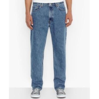 リーバイス メンズ デニムパンツ ボトムス Men's 550 Relaxed Fit Jeans Medium Stonewash