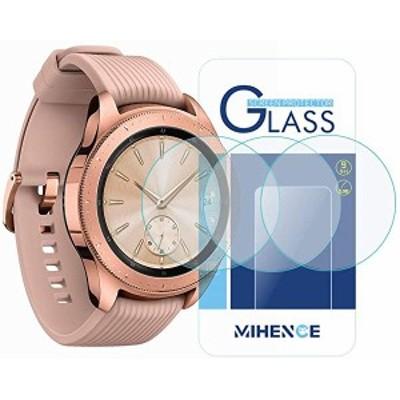Galaxy Watch (42mm) 保護フィルム (3枚) 9H ガラス保護フィルム 対応 Samsung Galaxy Watch 42mm SM-R810   SM-R815   Gear Spo...