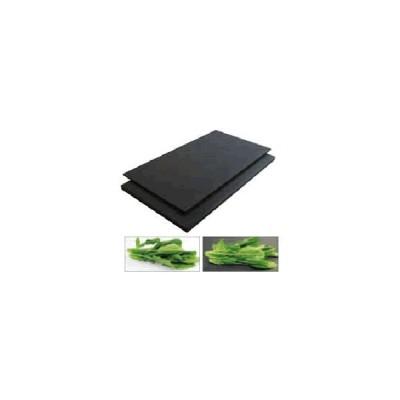 まな板 今話題の黒いまな板! ハイコントラストまな板K1(500×250×10mm)   (7-0347-0801)