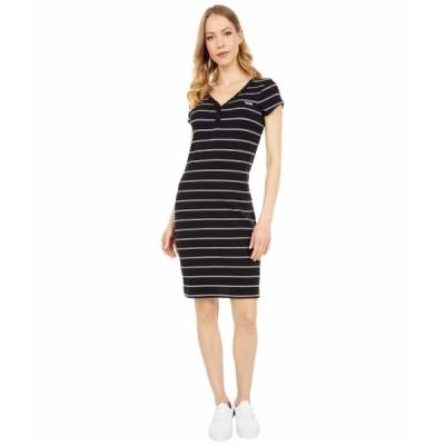 バンズ ワンピース トップス レディース Ally Stripe Midi Dress Black