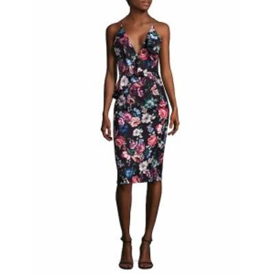 ブラックハロー レディース ワンピース Leni Floral Dress