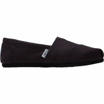 トムス Toms レディース シューズ・靴 Alpargata Canvas Shoe Black/Black Canvas