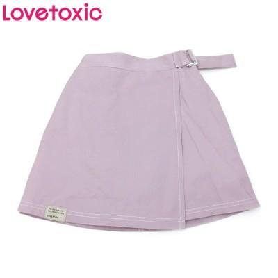 Lovetoxic ラブトキシック 子供服 ラップ台形スカパン