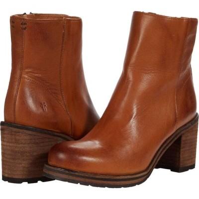 フライ Frye レディース ブーツ シューズ・靴 Karen Inside Zip Short Cognac Vintage Veg Tan
