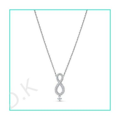Swarovski スワロフスキー Infinity クリスタル ネックレス
