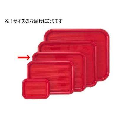 マジックトレー 角型 12インチ 中 赤 PP袋入 曙産業 MT-005