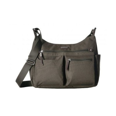 """Baggallini バッガリーニ レディース 女性用 バッグ 鞄 ホーボー ハンドバッグ New Classic """"Heritage"""" Anywhere Large Hobo with RFID Phone Wristlet - Olive"""