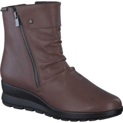 メフィスト Mephisto レディース ブーツ シューズ・靴 Phila Slouch Boot Hazelnut Silk Smooth Leather