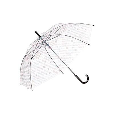 [アウトドアプロダクツ] ビニール傘 斜めストライプ 60cm 長傘 10001053 パープル 日本 (親骨の長さ) (日本サイズM相当)