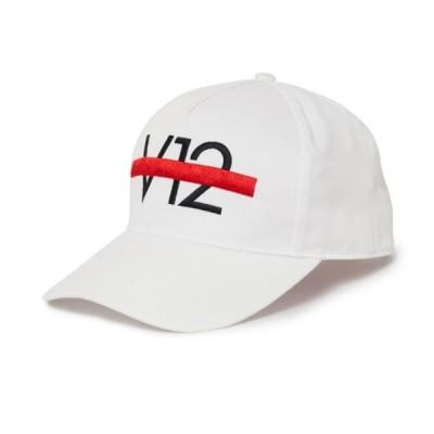 V12 ゴルフ メンズ レディース キャップ ゴルフキャップ ホワイト 白 フリーサイズ