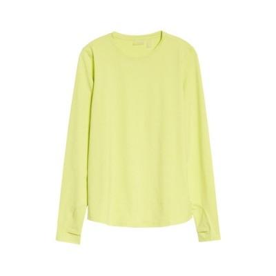 ゼラ Tシャツ トップス レディース Gen Micro Tee Green Lush