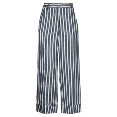BRAG-WETTE パンツ ブルー 40 麻 100% パンツ