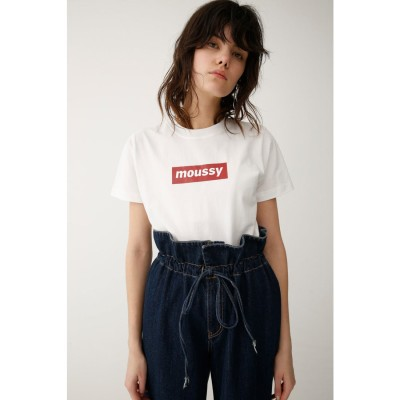 early moussy Tシャツ 柄RED5