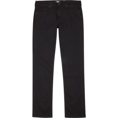 ペイジ Paige メンズ ジーンズ・デニム ボトムス・パンツ Lennox Black Slim-Leg Jeans Black