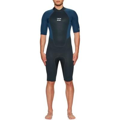 ビラボン Billabong メンズ ウェットスーツ 水着・ビーチウェア 2mm Intruder Back Zip Shorty Wetsuit Navy