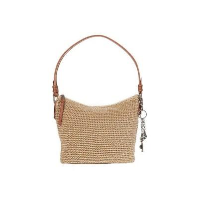 The Sak Sequoia Crochet Small Hobo レディース ハンドバッグ かばん Bamboo Static