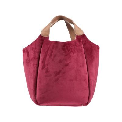 クルチアーニ CRUCIANI ハンドバッグ ボルドー コットン 98% / ポリエステル 2% / 革 ハンドバッグ