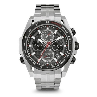 98B270 BULOVA PRECISIONIST ブローバ プレシジョニスト クロノグラフ メンズ腕時計 正規品 送料無料