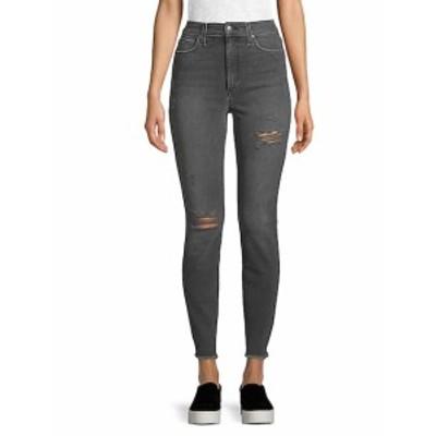 ジョーズ レディース パンツ デニム Riped Ankle Jeans