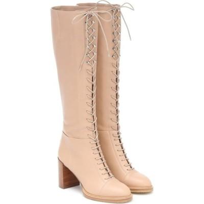 ガブリエラ ハースト Gabriela Hearst レディース ブーツ シューズ・靴 Pat 75 Knee-High Boots Dark Caramel
