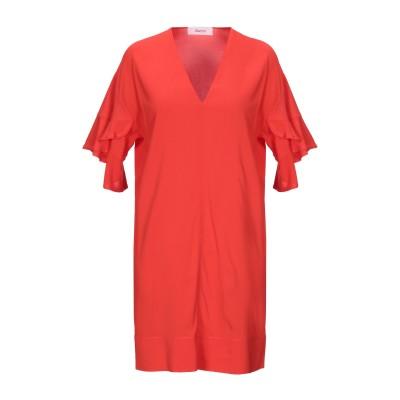 ジャッカ JUCCA ミニワンピース&ドレス レッド 40 レーヨン 95% / ポリウレタン 5% ミニワンピース&ドレス