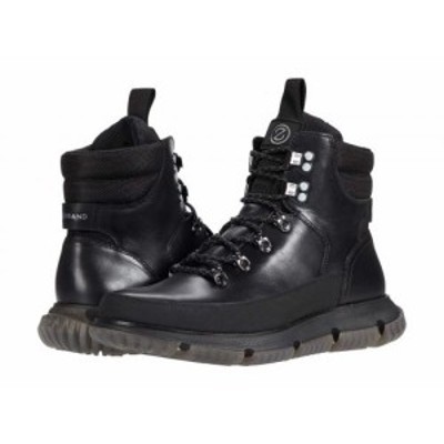 Cole Haan コールハーン メンズ 男性用 シューズ 靴 ブーツ レースアップ 編み上げ 4.Zerogrand Hiker Wp Black【送料無料】