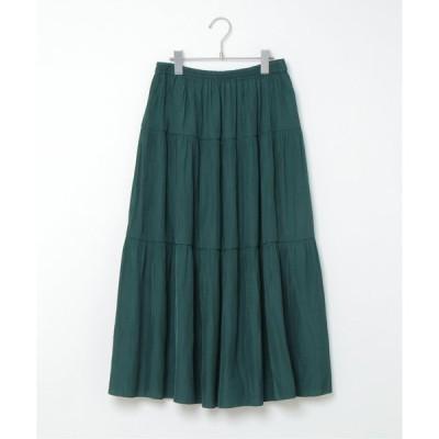 ティアードリバーシブルスカート