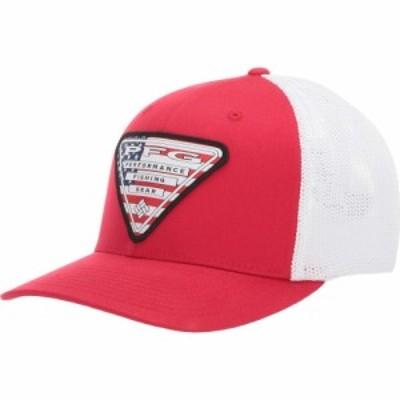 コロンビア Columbia レディース キャップ 帽子 PFG Mesh Stateside Mountain Red/USA Triangle