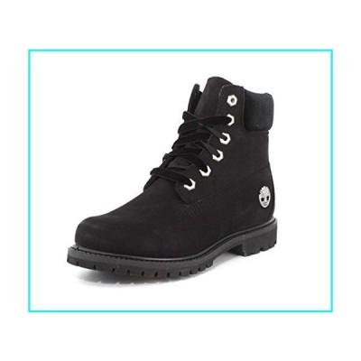 Timberland レディース ベルベットアクセント プレミアム防水ブーツ US サイズ: 9 カラー: ブラック