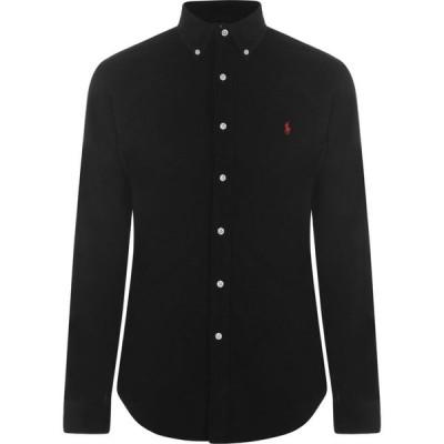 ラルフ ローレン Polo Ralph Lauren メンズ シャツ トップス Slim Fit Corduroy Shirt Polo Black