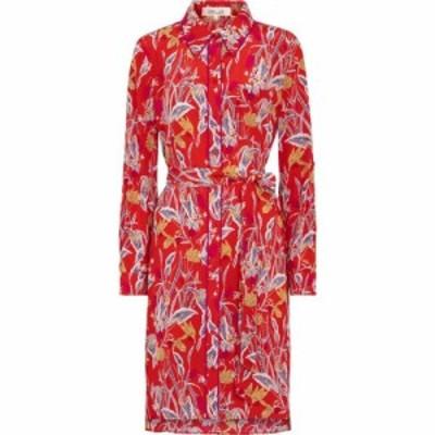 ダイアン フォン ファステンバーグ Diane von Furstenberg レディース ワンピース ミニ丈 prita floral silk crepe minidress Bali Flowe