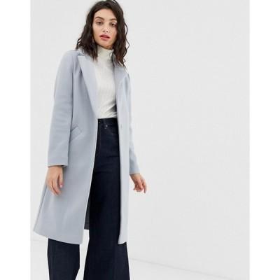 エイソス レディース  コート アウター ASOS River Island tailored coat in blue