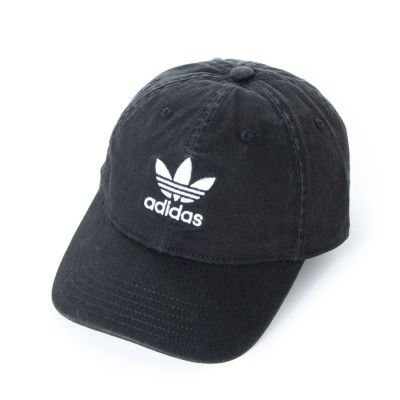 アディダス オリジナルス adidas Originals Relaxed Strapback (Black/White)