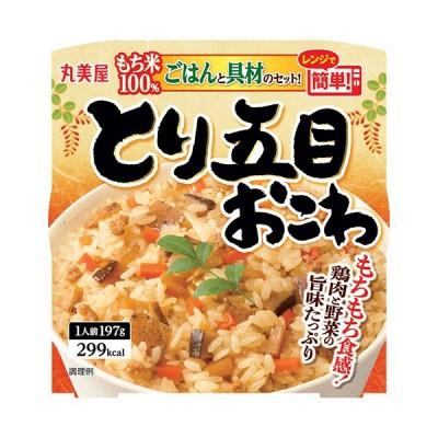丸美屋 とり五目おこわ もち米ごはん付き 197g 1セット(24食) (お取寄せ品)