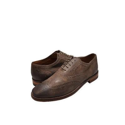 ドレス フォーマル コールハーン メンズ シューズ Cole Haan Cambridge Wing オックスフォード C21865 Walnut Distressed *New*