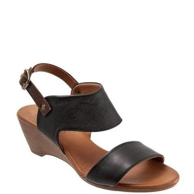 ブエノ レディース サンダル シューズ Ivana Leather Sling Wedge Sandals