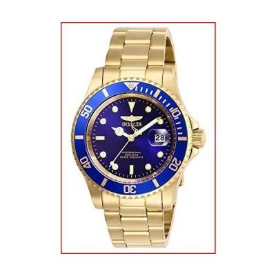 Invicta Men's Pro Diver 40mm Stainless Steel Quartz Watch, Gold/Blue (Model: 26974)【並行輸入品】