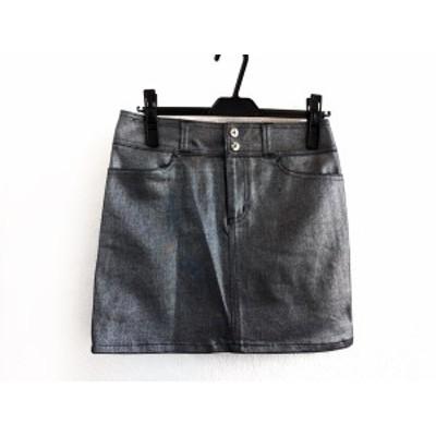 ピンキー&ダイアン Pinky&Dianne ミニスカート サイズ38 M レディース シルバー Jeans【中古】20200623