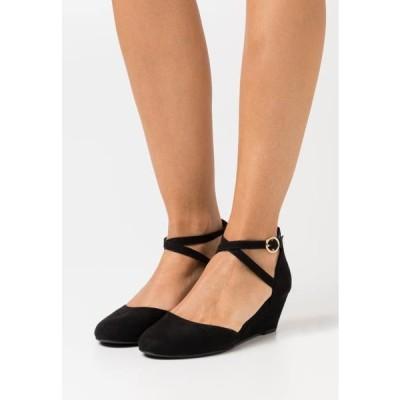 アンナフィールド レディース 靴 シューズ Wedges - black