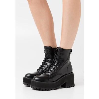 クールウェイ レディース ブーツ YELINA - Platform ankle boots - black