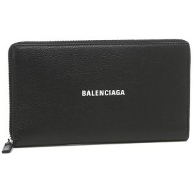 バレンシアガ 長財布 ユニセックス キャッシュ  BALENCIAGA 594317 1IZI3 1090 ブラック【返品OK】