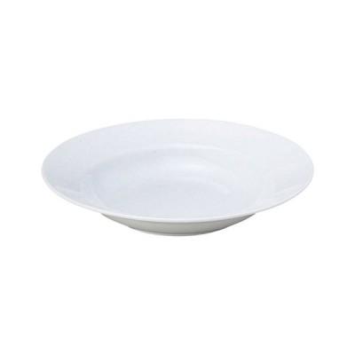 スープ皿 プリーマホワイト中厚型 9吋スープ皿 高さ40mm×直径:235/業務用/新品