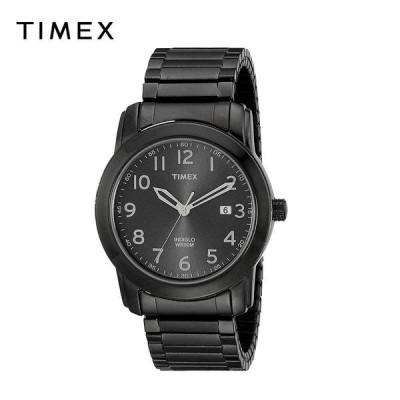 TIMEX タイメックス メンズ 腕時計 Highland Street ステンレススチール ブラック T2P135 海外モデル 当店1年保証