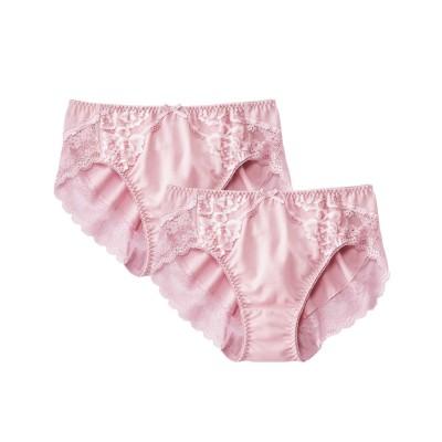 綿混ストレッチコーディネートショーツ2枚組(M) スタンダードショーツ, Panties