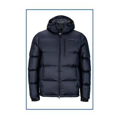 【新品】Marmot Guides Down Hoody Men's Winter Puffer Jacket, Fill Power 700, Jet Black, Large【並行輸入品】