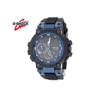 CASIO G-SHOCK MTG-B1000XB-1AJF カシオ MT-G ソーラー電波 ミドルサイズ 腕時計 スマートフォンリンク Bluetooth カーボンコアガード ブラック ブルー